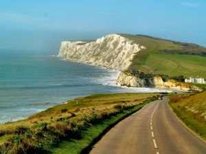 Probably one of the most scenic bike legs of any triathlon in Britain! The route starts and ends in Freshwater Bay, Isle of Wight